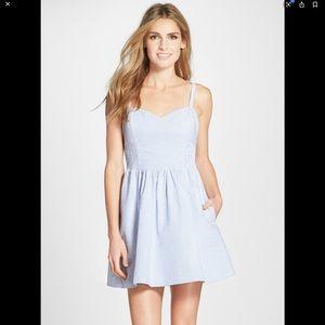 Lilly Pulitzer Christine seersucker dress size 2